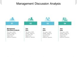 Management Discussion Analysis Ppt Powerpoint Presentation Summary Show Cpb