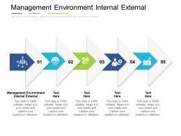 Management Environment Internal External Ppt Powerpoint Presentation Styles Graphics Template Cpb