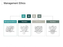 Management Ethics Ppt Powerpoint Presentation Professional Backgrounds Cpb
