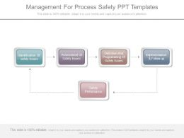 Management For Process Safety Ppt Templates