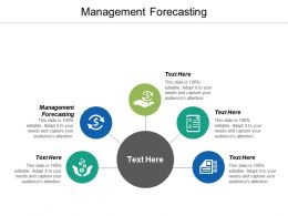 Management Forecasting Ppt Powerpoint Presentation Infographics Ideas Cpb