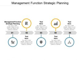 Management Function Strategic Planning Ppt Powerpoint Presentation Portfolio Examples Cpb