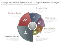 Management Global Asset Allocation Graph Powerpoint Images
