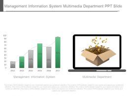 Management Information System Multimedia Department Ppt Slide
