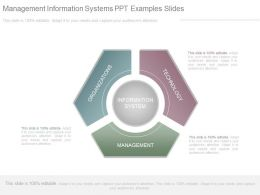 Management Information Systems Ppt Examples Slides