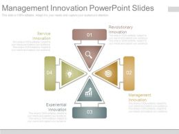 Management Innovation Powerpoint Slides
