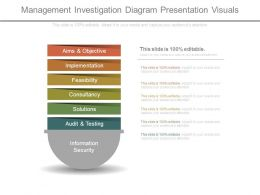 Management Investigation Diagram Presentation Visuals