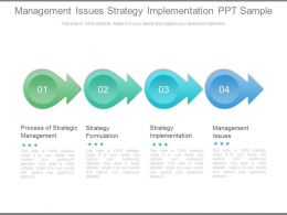 Management Issues Strategy Implementation Ppt Sample
