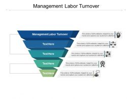 Management Labor Turnover Ppt Powerpoint Presentation Ideas Elements Cpb