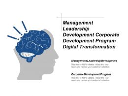 Management Leadership Development Corporate Development Program Digital Transformation Cpb