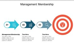 Management Membership Ppt Powerpoint Presentation Summary Slide Cpb