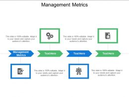 Management Metrics Ppt Powerpoint Presentation Infographic Template Icons Cpb