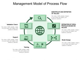 Management Model Of Process Flow