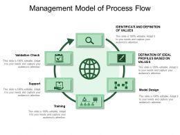 Management Model Of Process Flow