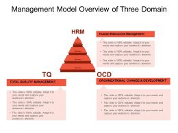 Management Model Overview Of Three Domain
