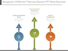Management Of Remote It Services Example Ppt Slides Download