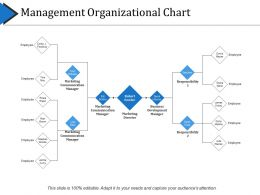 Management Organizational Chart Powerpoint Slide Templates