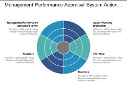Management Performance Appraisal System Action Planning Worksheet Calculating Productivity Cpb