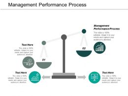 Management Performance Process Ppt Powerpoint Presentation Portfolio Ideas Cpb