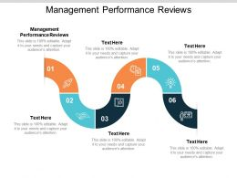 Management Performance Reviews Ppt Powerpoint Presentation Slides Background Cpb