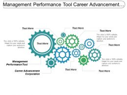 Management Performance Tool Career Advancement Corporation Computer Employment Cpb