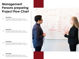 Management Persons Preparing Project Flow Chart