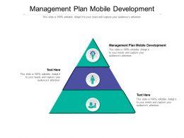 Management Plan Mobile Development Ppt Powerpoint Presentation Styles Show Cpb