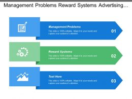 Management Problems Reward Systems Advertising Budgets Decision Support System