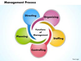 Management Process Powerpoint Presentation Slide Template