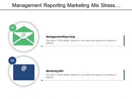 management_reporting_marketing_mix_stress_management_lead_generation_cpb_Slide01