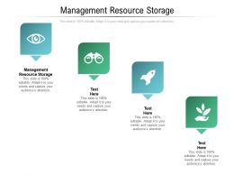 Management Resource Storage Ppt Powerpoint Presentation Outline Backgrounds Cpb