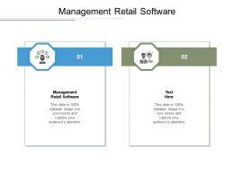 Management Retail Software Ppt Powerpoint Presentation Portfolio Layouts Cpb