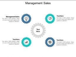 Management Sales Ppt Powerpoint Presentation Styles Portfolio Cpb