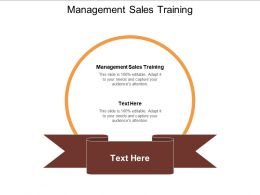 Management Sales Training Ppt Powerpoint Presentation Professional Background Images Cpb