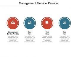 Management Service Provider Ppt Powerpoint Presentation Show Designs Cpb