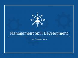 Management Skill Development Goals Actions Assessment Result Or Award