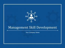 Management Skill Development Goals Actions Assessment Result Or Award