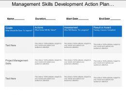 management_skills_development_action_plan_showing_goals_and_assessment_Slide01