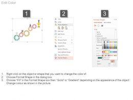 25462748 Style Variety 1 Gears 5 Piece Powerpoint Presentation Diagram Infographic Slide