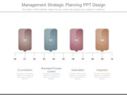 Management Strategic Planning Ppt Design