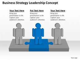 Management Strategy Consulting Business Leadership Concept Powerpoint Templates 0527