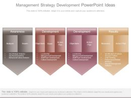 Management Strategy Development Powerpoint Ideas