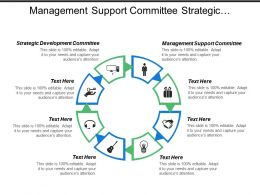 Management Support Committee Strategic Development Committee Infrastructure Support