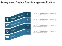 Management System Sales Management Portfolio Management Lean Six Sigma Cpb