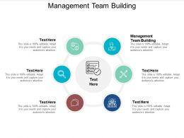 Management Team Building Ppt Powerpoint Presentation File Diagrams Cpb