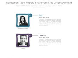 Management Team Template 3 Powerpoint Slide Designs Download