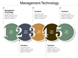 Management Technology Ppt Powerpoint Presentation Ideas Outline Cpb