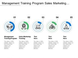 Management Training Program Sales Marketing Training Marketing Tool