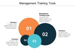 Management Training Tools Ppt Powerpoint Presentation File Smartart Cpb