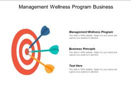 Management Wellness Program Business Principle Business Model Transformation Cpb